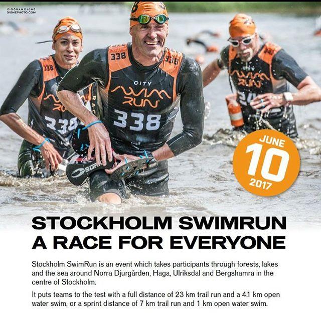 Jajemän! Det ska bli så roligt! @stockholmswimrun