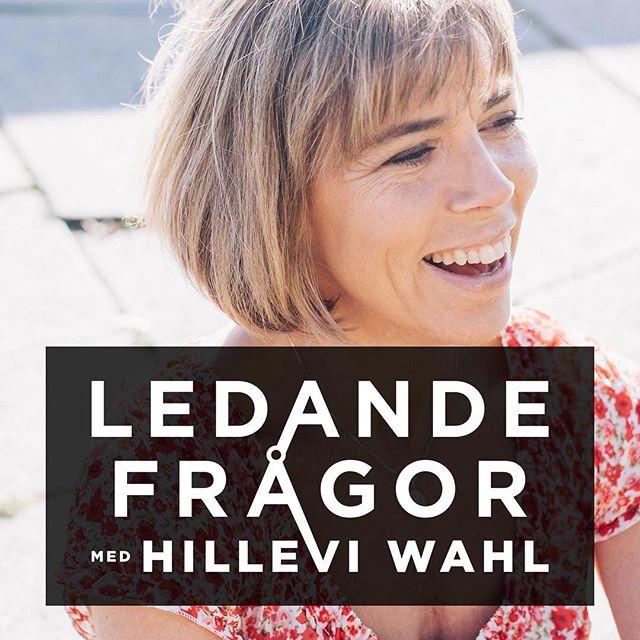 På söndag är det premiär för podden Ledande frågor med Hillevi Wahl. Häng med från början! Gilla FB-sidan och prenumerera på podden så hörs vi på söndag! http://podd.hillevi.nu