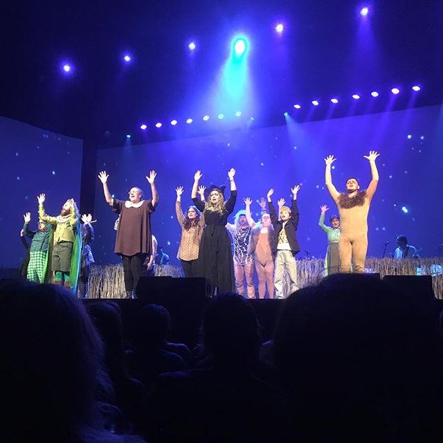 Trollkarlen från Oz. Med Glada hudik-teatern. Magiskt bra! @hudikteatern