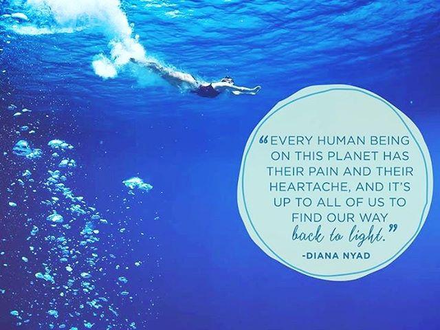 Diana Nyad.