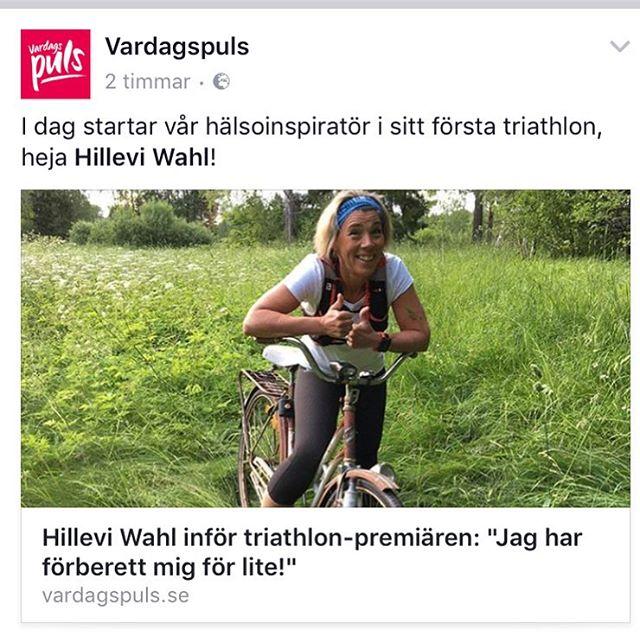 I kväll smäller det! Håll tummarna för att jag simmar, cyklar och springer åt rätt håll! Roooligt! Och joina mig gärna i Nora. Det går fortfarande att köpa startplatser kl 17.00 på torget. Http://www.vardagspuls.se/motion--traning/hillevi-wahl-infor-triathlon-premiaren/