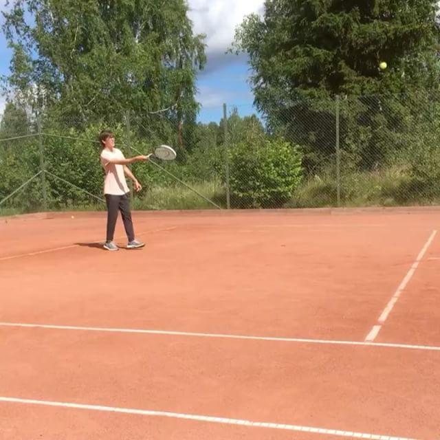 Jamen tennis är ju jättekul. Också!