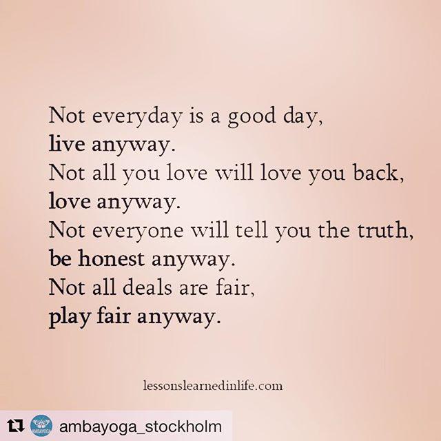 Ja. Verkligen.  Repost @ambayoga_stockholm (@get_repost) ・・・ ️