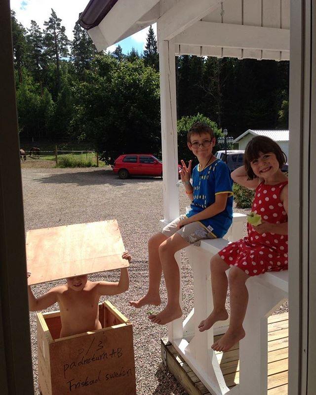 Sommarminnen. För fyra år sedan. Mina ungar.