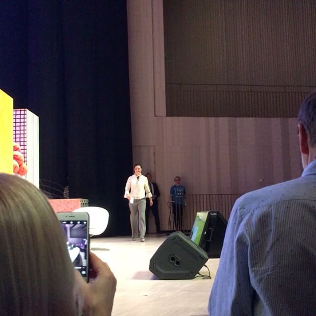 Kronprinsessan Victorias tal på (hela lägger jag ut på Facebook) Jag önskar att hela Sverige hade kunnat få vara med och lyssna på alla briljanta föreläsningar och samtal i dag. Nu vill jag förändra världen. Igen.
