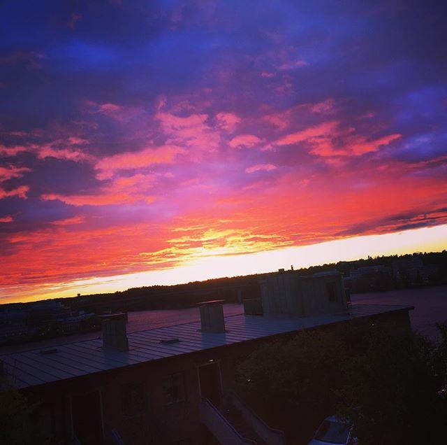 Kvällens himmel.
