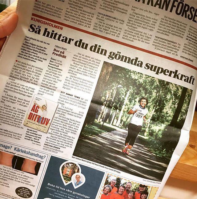 Mitt-i-Kungsholmen i dag. Nu börjar det. Kul! @louisebackelinforlag