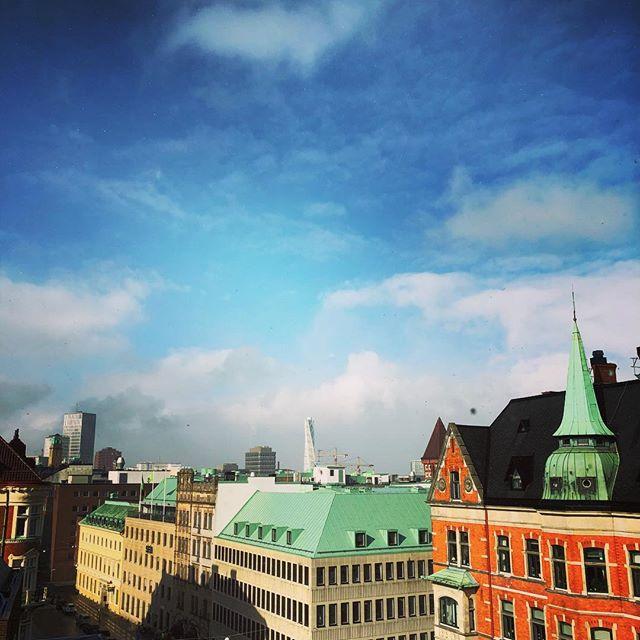 Såg Malmö från ett helt nytt perspektiv i går. @allas_veckotidning