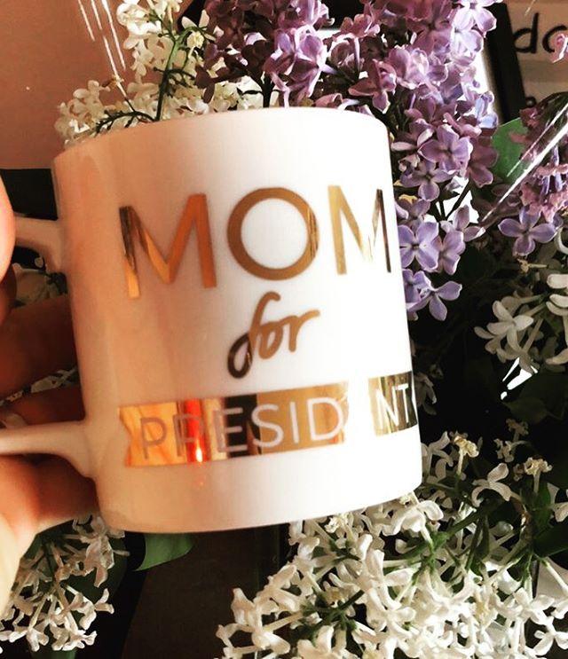 Mom for president. ️