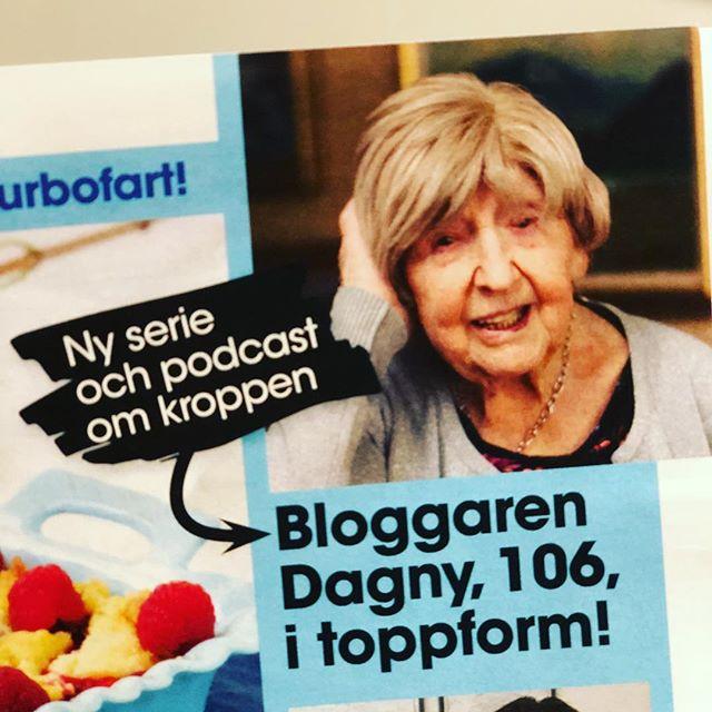Nu får jag äntligen avslöja vad jag pysslat med i ett par månader. Jag har fått träffa ett gäng av Sveriges coolaste, härligaste kvinnor och göra en serie som går både i tidning och podcast. Med start i nästa nummer av Allas Veckotidning - då får ni möta Dagny Carlsson som berättar om hur synen på kvinnokroppen förändrats under hundra år. Och om hon har några komplex. @allas_veckotidning @123bojan