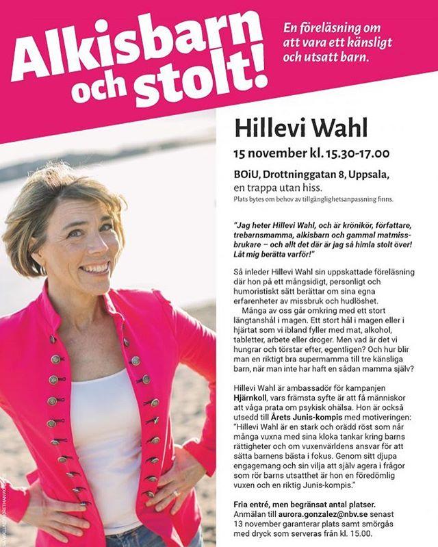Uppsala! Varmt välkomna. ️ @studieforbundet_nbv @junisibilder