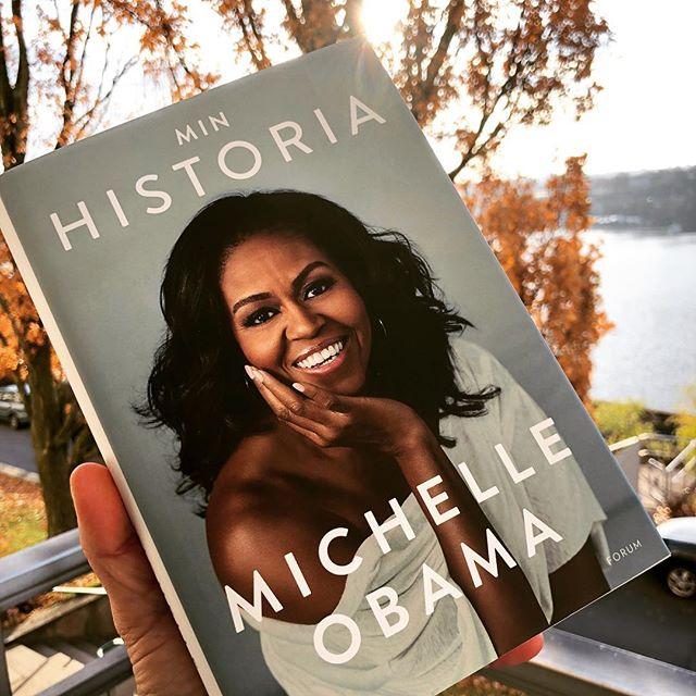 Jamen dåså, då vet jag vad jag ska göra i helgen! @bokforlagetforum @michelleobama